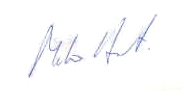 Signature - Mike Hart
