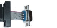 Straight Wired Serial Interface - DB9 Male with Backplate